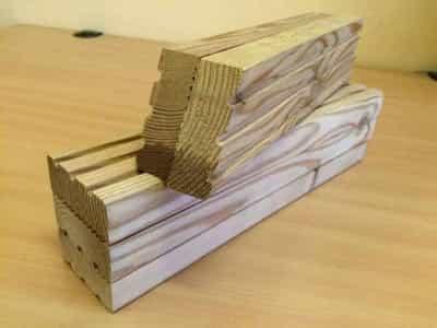 Dřevěné hranolky 50mm x 40mm