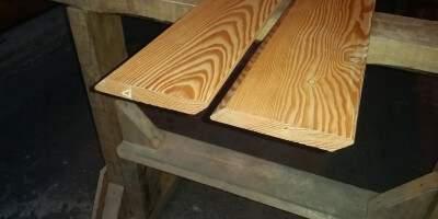 Dřevěný obklad domu  (Rhombus)