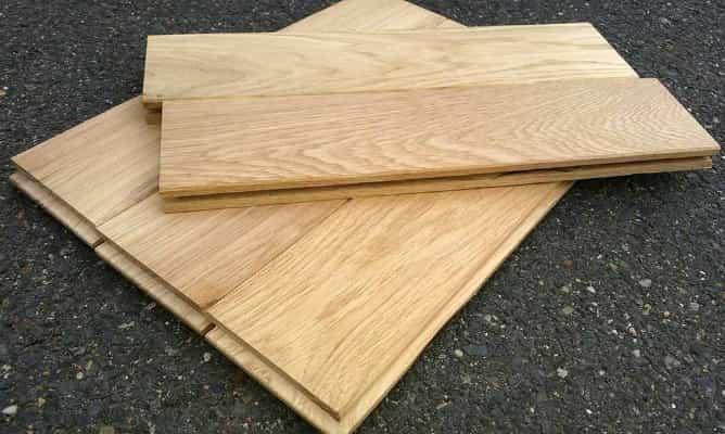 Masivní podlaha z dubu 20mm x 161mm x 1m - 1.75m