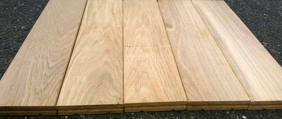 Dubová podlaha z masivu 20mm x 136mm x 1.8m - 2.5m