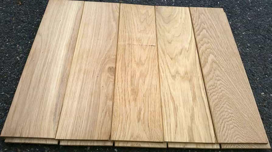 Masivní dřevěné podlahy z dubu  20mm x 121mm x 1.8m - 2.5m