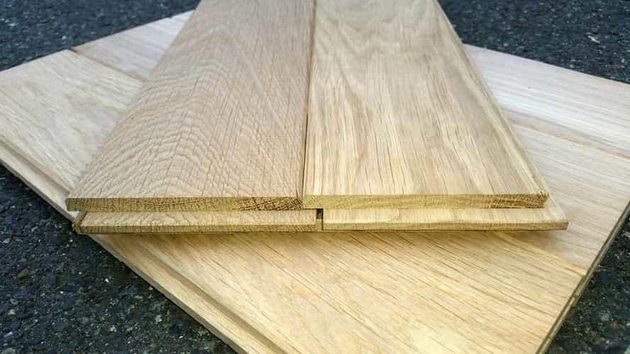 Dubová masivní podlaha  20mm x 121mm x 1m - 1.75m