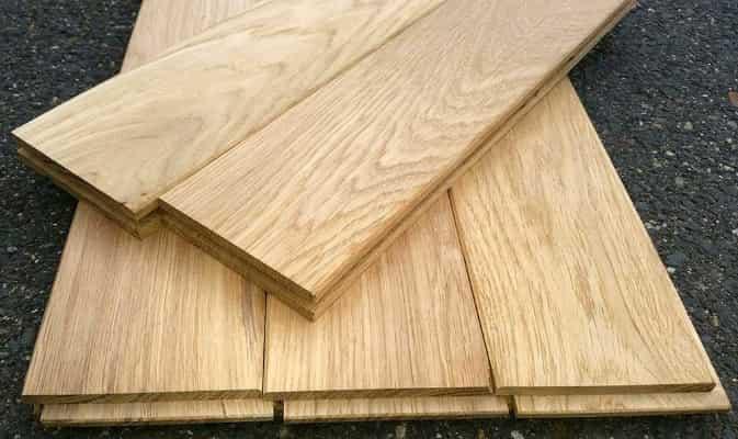 Dřevěná prkna na podlahu  20mm x 96mm x 0.5m - 0.99m